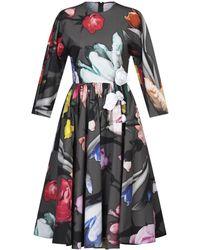 Prada Vestido a media pierna - Multicolor