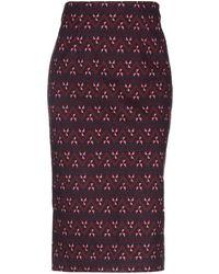 Anonyme Designers 3/4 Length Skirt - Purple