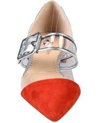 The Seller Ballet Flats - Red