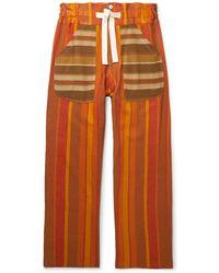 Nicholas Daley Pantalone - Arancione