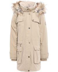 DKNY Overcoat - Natural