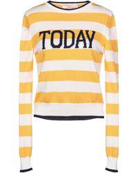 Alberta Ferretti Sweater - Yellow