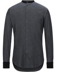 Giorgio Armani Denim Shirt - Blue