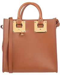 Sophie Hulme Handbag - Brown