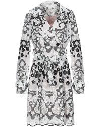 Relish Overcoat - White