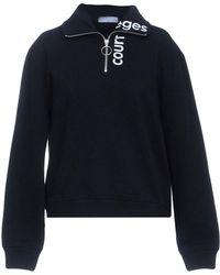 Courreges Sweatshirt - Black