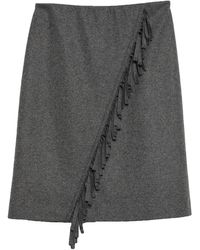 Riani Midi Skirt - Grey
