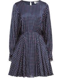 American Vintage Kurzes Kleid - Blau