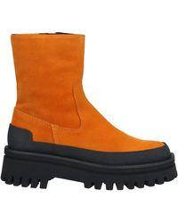 Paloma Barceló Ankle Boots - Orange