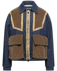Just Cavalli Manteau en jean - Bleu