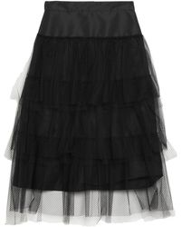 Burberry Long Skirt - Black