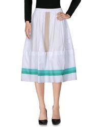 AVN - 3/4 Length Skirt - Lyst