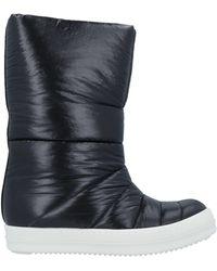 Rick Owens DRKSHDW Knee Boots - Black