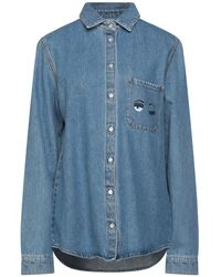 Chiara Ferragni Denim Shirt - Blue