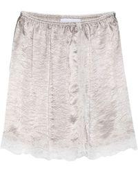 Koche Mini Skirt - Natural