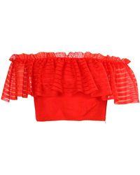 Alexander McQueen Pullover - Rojo