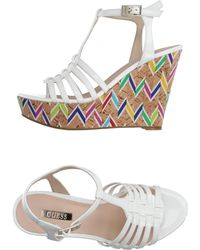 Guess Sandals - White