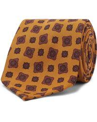 Rubinacci Cravate - Orange