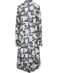 Masnada Knee-length Dress - Black