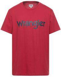 Wrangler T-shirt - Red