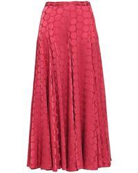 Co. Long Skirt - Red