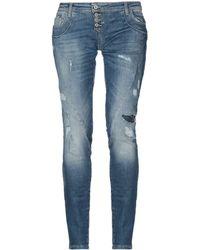 Please Pantaloni jeans - Blu