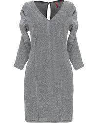 Imperial Short Dress - Gray