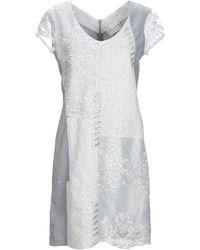 ELISA CAVALETTI by DANIELA DALLAVALLE Short Dress - White