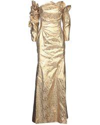 Vivienne Westwood Long Dress - Metallic