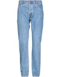 Prada - Pantalon en jean - Lyst