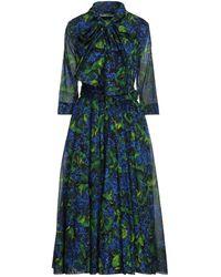 Samantha Sung Langes Kleid - Blau