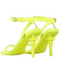 Vetements Sandals - Yellow