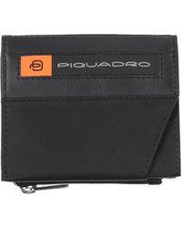 Piquadro Brieftasche - Schwarz