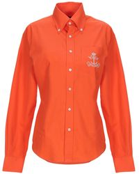 Ralph Lauren Black Label Shirt - Orange