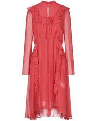 Dondup Kurzes Kleid - Rot