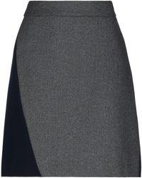 DKNY Knielanger Rock - Grau
