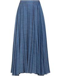Ralph Lauren Black Label Denim Skirt - Blue
