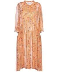 INTROPIA Knee-length Dress - Orange
