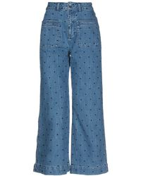 Ulla Johnson Denim Pants - Blue