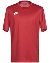 Lotto Leggenda Camiseta - Rojo