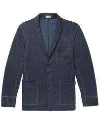 Camoshita Suit Jacket - Blue