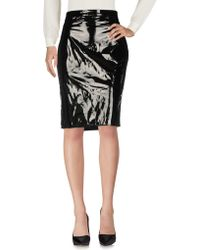 Boutique Moschino - Knee Length Skirt - Lyst