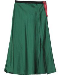 ..,merci Midi Skirt - Green