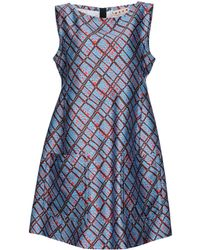 Marni Short Dress - Blue