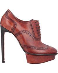 Santoni Lace-up Shoe - Brown