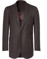 P.Johnson Suit Jacket - Brown