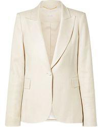 Adam Lippes Suit Jacket - White