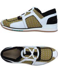 A.Testoni Sneakers - Gelb