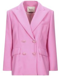 Mulberry Suit Jacket - Pink