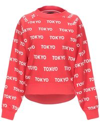 ONLY Sweatshirt - Red